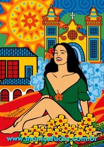 Mônica Fuchshuber participa de exposição em homenagem às novelas da Globo