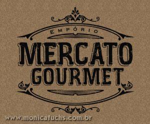 Mônica Fuchshuber cria Identidade Visual do Empório Mercato Gourmet
