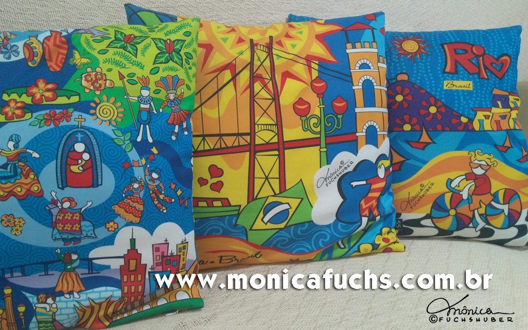 Almofadas do Brasil by Mônica Fuchshuber