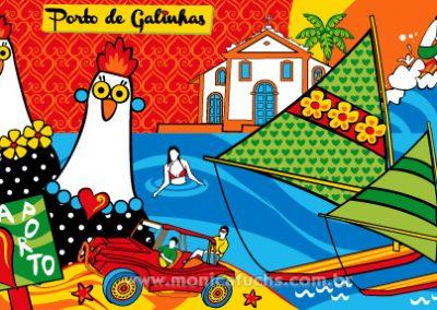 Porto Galinhas Arte