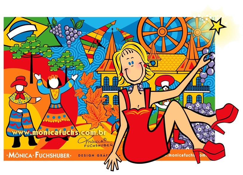 Mônica Fuchshuber Artes, Design, Ilustração e Licenciamento de Imagens
