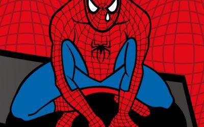 O Homem Aranha está de luto!