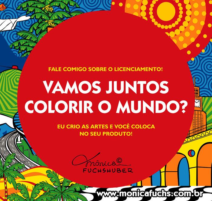 Vamos colorir o mundo, juntos?