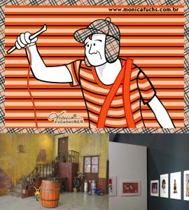 Mônica Fuchshuber participa de exposição em Homenagem ao personagem Chaves