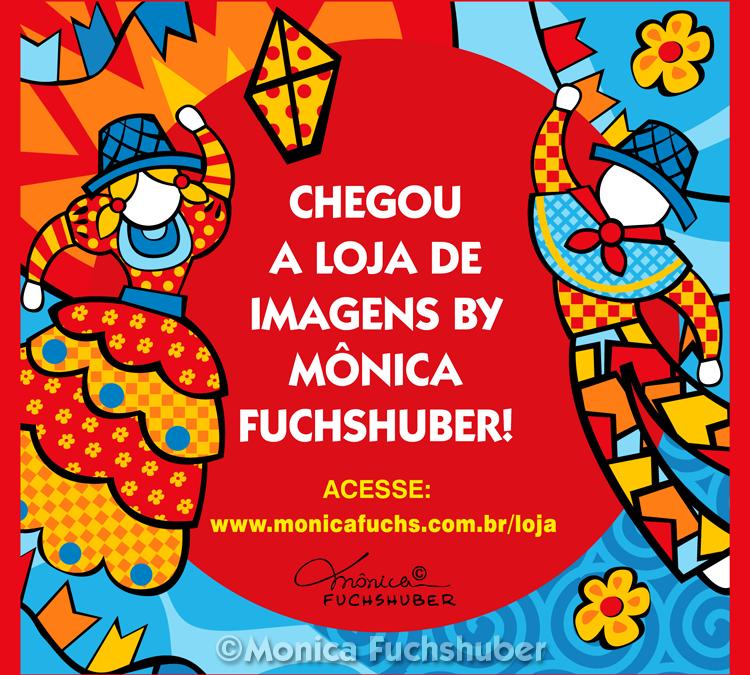 Chegou a Loja de Imagens by Mônica Fuchshuber!