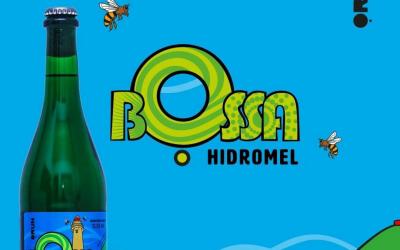 Mônica Fuchshuber desenvolve Rótulo para o Hidromel do Grupo Bossa